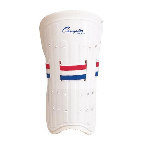 "Champion Sports Velcro Plastic 7"" Shinguard"