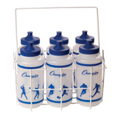 Coated Wire Sports Team Water Bottle Carrier Set of 6