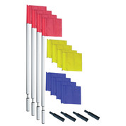 World Cup Soccer Corner Multicolor Flags Field Marking Set