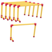 Ultra Fixed Height Hurdle Set 12-Inch