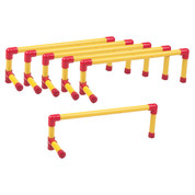 Champion Sports Ultra Lightweight Plastic Track Hurdle Set
