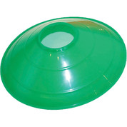"Green Champion Sports 9"" Saucer Low Profile Field Cone"