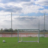 "Alumagoal All Purpose Backstop System-1.75"" Mesh"