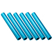 Royal Blue Aluminum Relay Baton, Official Size and Weight