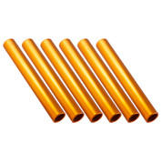 Gold Aluminum Relay Baton, Official Size and Weight