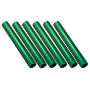 Green Aluminum Relay Baton, Official Size and Weight