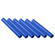 Royal Blue Plastic Track Relay Batons Set of 6