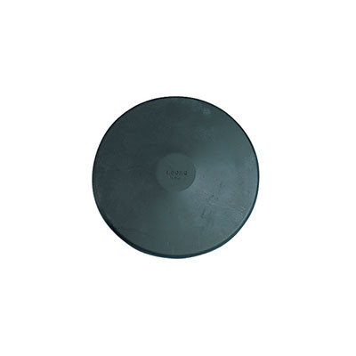 Youth Rubber Practice Discus - Black