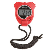 Economy Sports Stop Watch - Red