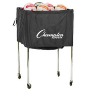 Folding Aluminum Frame Volleyball Cart