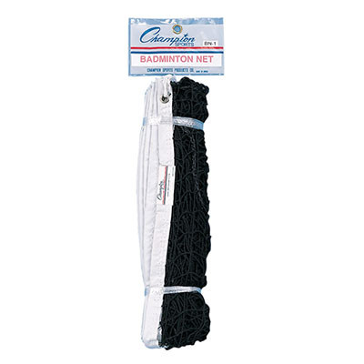 Champion Spors 21ft Nylon Badminton Net with Rope Cable