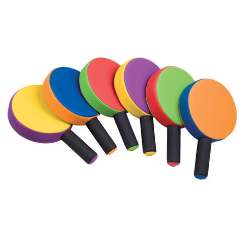 Chamion Sports Rhino Skin� Muticolor Paddles, Set of 6