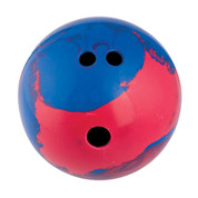 Champion Sports 2.5lb Rubber Training Bowling Ball