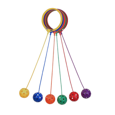 Kids Swing Ball Coordination Game Multicolor Set