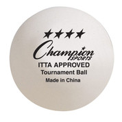 ITTF Approved Tournament Table Tennis Ball Set of 6