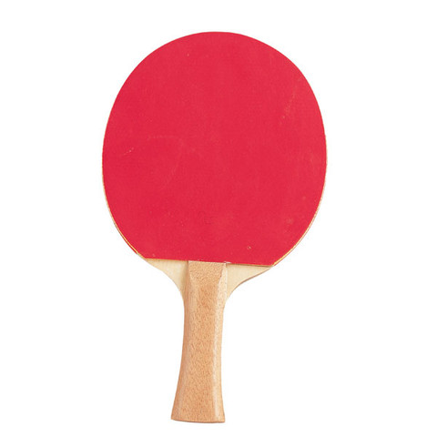 Super Grip Flared Handle Table Tennis Paddle - Red/Black
