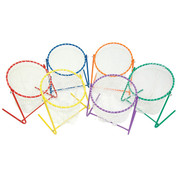 Multicolored Sports Game Target Practice Net Set of 6 Champion Sports