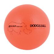 Neon Orange Rhino Skin Low Bounce Dodgeball