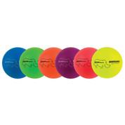 Rhino Skin Neon Rainbow Colors Soft Foam Dodgeball Set