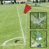 Alumagoal Soccer Corner Flags