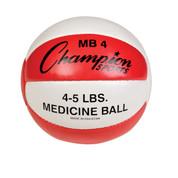 Heavy Duty Durable Leather Cross Training Medicine Ball 4-5lb