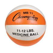 Heavy Duty Durable Leather Cross Training Medicine Ball 11-12lb