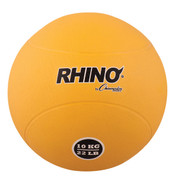 10kg Textured Rubber Exercise Medicine Ball