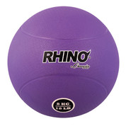 8kg Textured Rubber Exercise Medicine Ball
