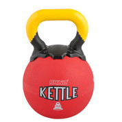 Rubber Exercise Kettle Bell 20lb Rhino� Red