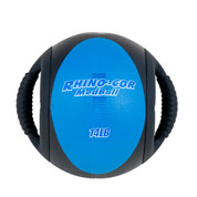 Dual Handle Medicine Ball 14lb Rhino-Cor� Royal Blue