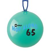 Cardio Exercise Fitpro Hop Along Pon Pon Ball 65 cm, Green