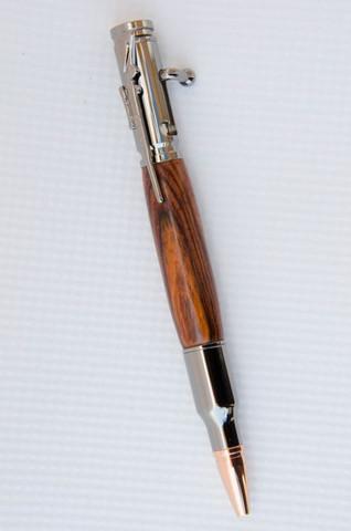 Cocobolo Bolt Action Bullet Pen