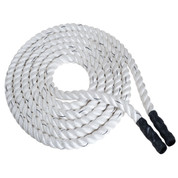 Fitness Training Rope White 100-Foot Rhino� Nylon Poly - 2-Inch Thick