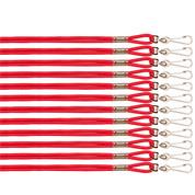 Red Heavy Duty Nylon Sports Lanyard