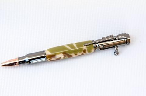 Desert Camo Bolt Action Bullet Pen