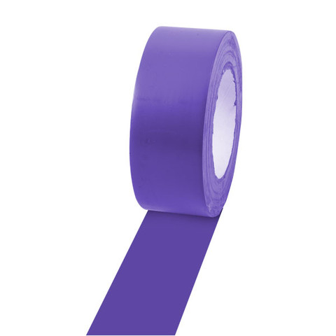 Purple Gym Floor Marking Tape Two-Inch Wide by 36 Yards Long