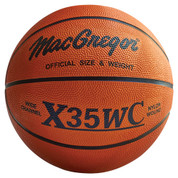 Men's MacGregor X35WC Rubber Indoor and Outdoor Basketball