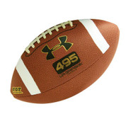 Official Pop Warner GRIPSKIN Composite Football by Under Armour