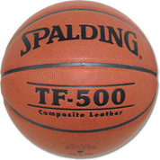 Men's Spalding TF-500 Indoor and Outdoor Composite Leather Basketball