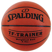 Weighted Spalding TF-Trainer Official Size Composite Leather Indoor Basketball