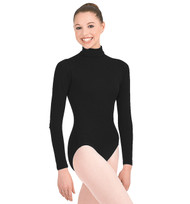 TB41 - Capezio Adult Turtleneck Long Sleeve Leotard