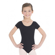 TB132C - Child Nylon Short Sleeve Leotard