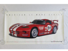 American Lemans Series Commemorative Poster