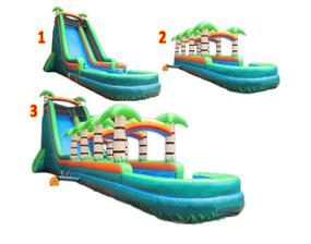 Tropical 3pcs Slide