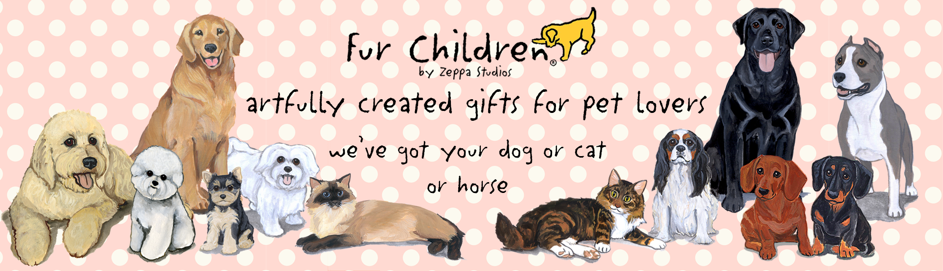 Fur Children Artfully Created Gifts for Pet Lovers  - we've got your dog