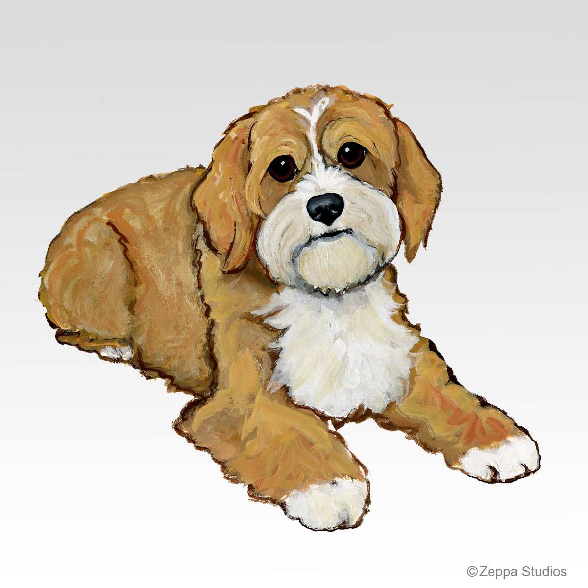 Cavapoo, new Fur Children design from Zeppa Studios