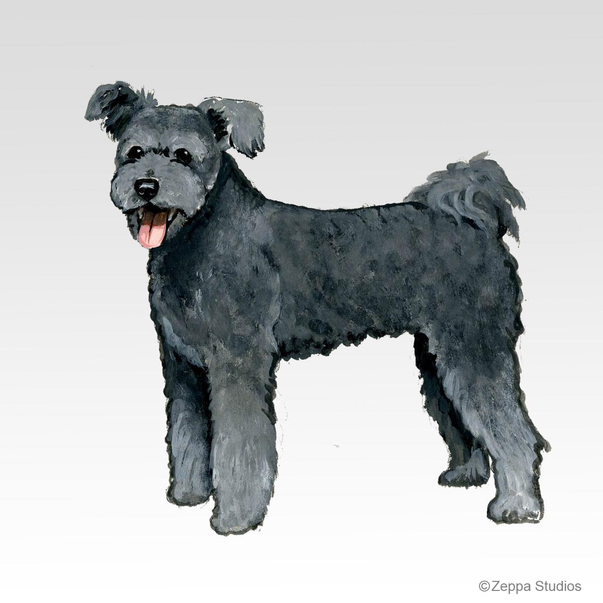 Pumi, new Fur Children breed design from Zeppa Studios