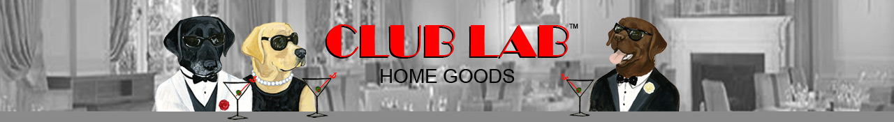 Club Lab Gifts for the Lab Lover's Home by Zeppa Studios