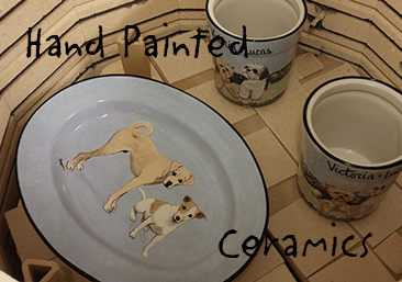 link to hand painted ceramics