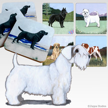 Sealyham Terrier Scenic Coasters